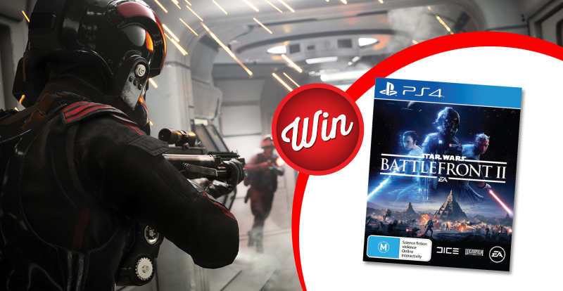 Star Wars Battlefront II PS4 giveaway