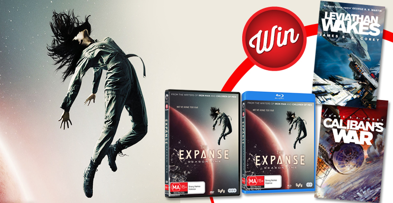 The Expanse book and Blu-ray prize-packs up for grabs