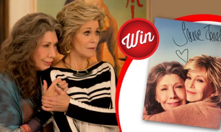 Win a Grace and Frankie poster signed by Jane Fonda
