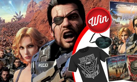 Ultimate Starship Troopers: Traitor of Mars prize-pack!