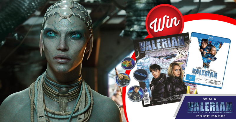 Win a Valerian and the City of a Thousand Planets prize-pack