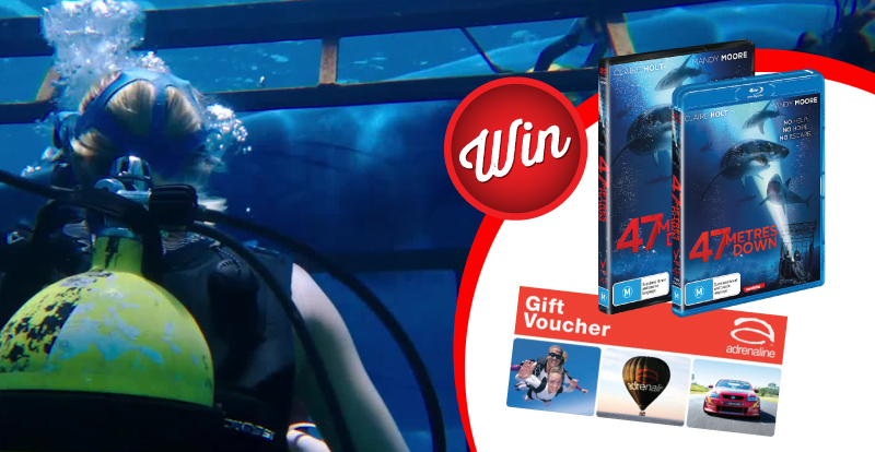Score a $500 voucher with 47 Metres Down