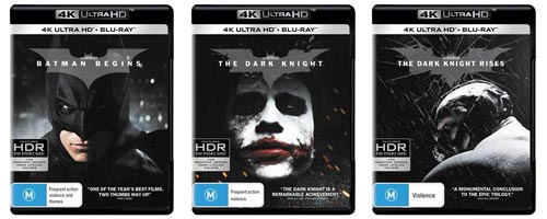 4K December 2017 - Dark Knight trilogy