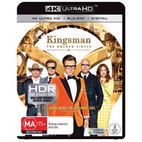 4K December 2017 - Kingsman: The Golden Circle