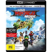 4K December 2017 - The LEGO Ninjago Movie