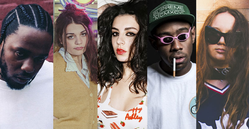 10 music clips from '17 you gotta see