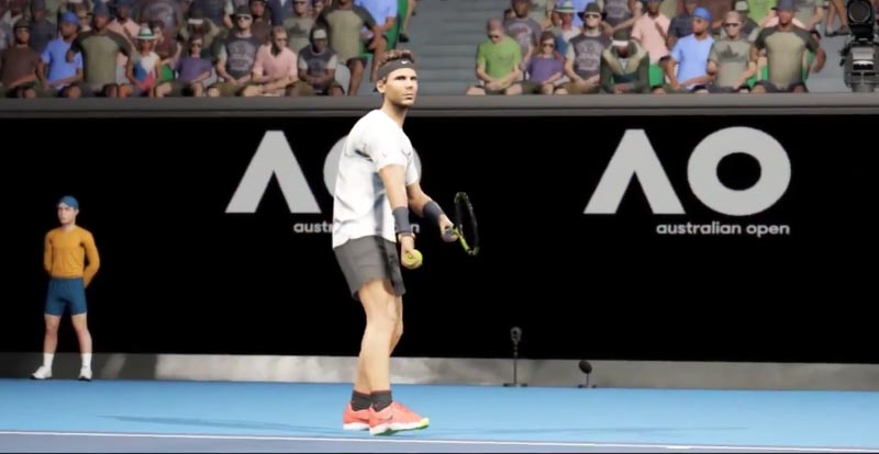 AO Tennis comes courting soon