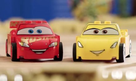 Cars 3 – told with LEGO in under 3 minutes
