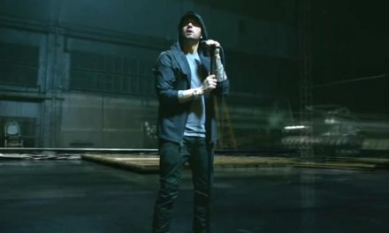 Eminem 'Walk on Water' clip splashes down