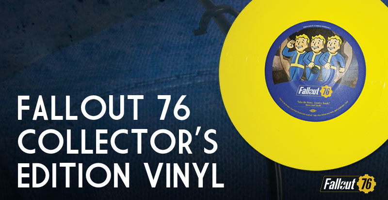 Grab a FREE Fallout 76 vinyl with this month's STACK Magazine