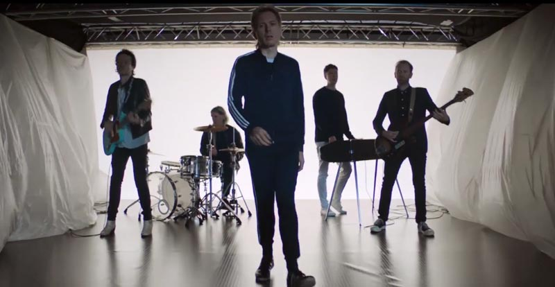 Uplifting new Franz Ferdinand 'Always Ascending' video