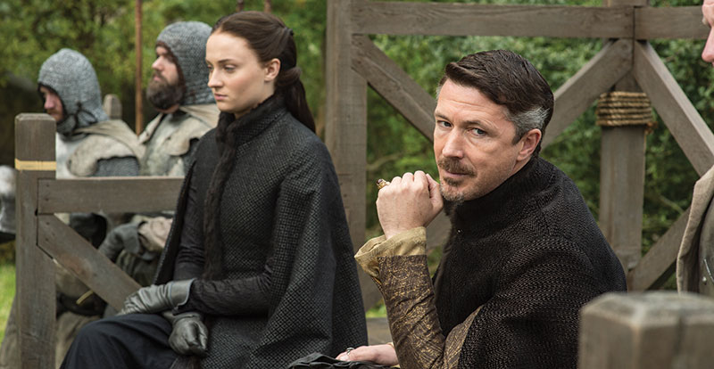 Game of Thrones – Aidan Gillen interview