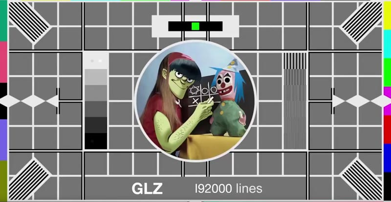 Gorillaz remember their mannerz and say thank you