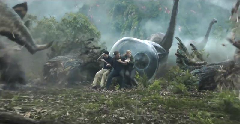 Jurassic World 2 trailer teaser is volcanic!