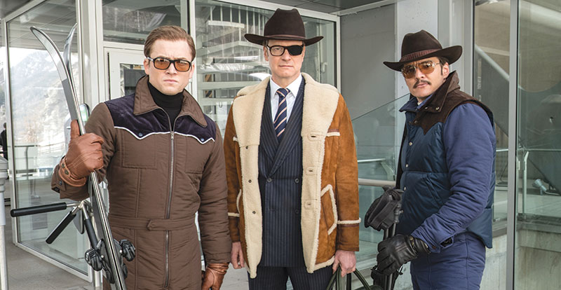 Kingsman: The Golden Circle on DVD, Blu-ray  and 4K December 20