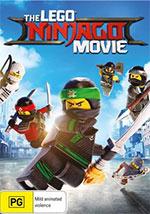 Lego Ninjago Movie DVD Cover