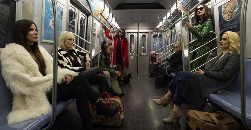 Ocean's 8 trailer is sparkly