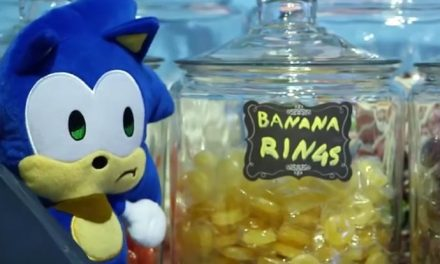 Even Sonic plushies gotta get them rings