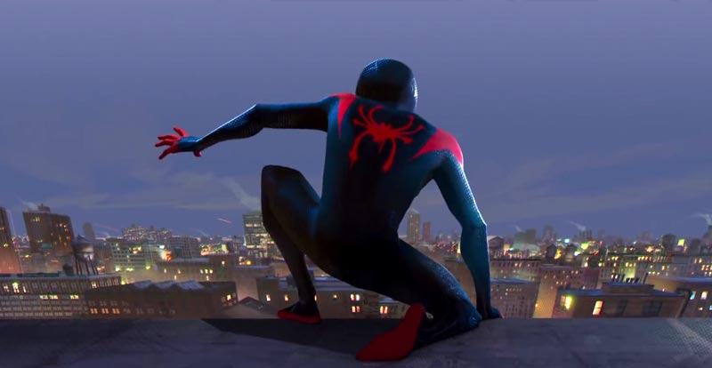 Spider-Man: Into the Spider-Verse trailer swings by