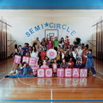 The Go Team Semicircle