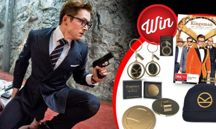 10 Kingsman: The Golden Circle prize-packs