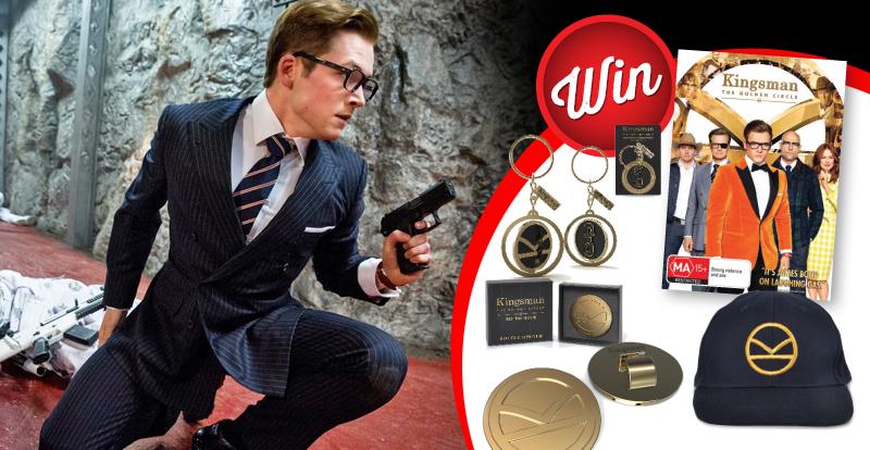 10 Kingsman: The Golden Circle prize-packs