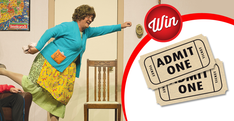 Win tickets to see Mrs. Brown's Boys Live!