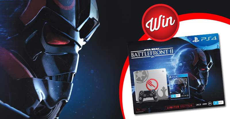 Win a PlayStation 4 1TB Star Wars Battlefront II Console Bundle!