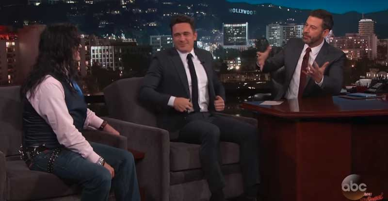 Tommy Wiseau admits where he's really from on Kimmel