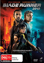 Blade Runner 2049 DVD Cover