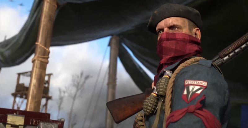 Call of Duty: WWII – The Resistance ISN'T futile