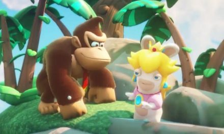Donkey Kong invading Kingdom Battle