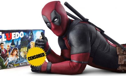 New Clue – it was Deadpool in the *BLEEP* with the *BLEEP*