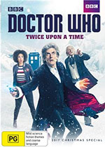 Doctor Who: Twice Upon A Time 2017 Christmas Special DVD Cover