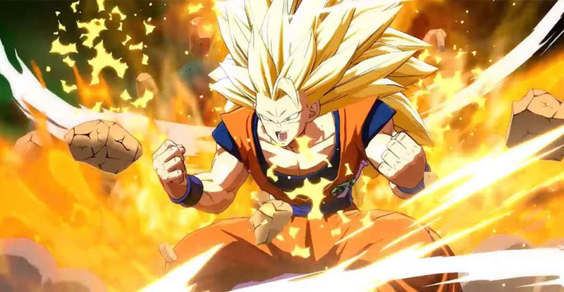 Dragon Ball FighterZ launch trailer smacks down