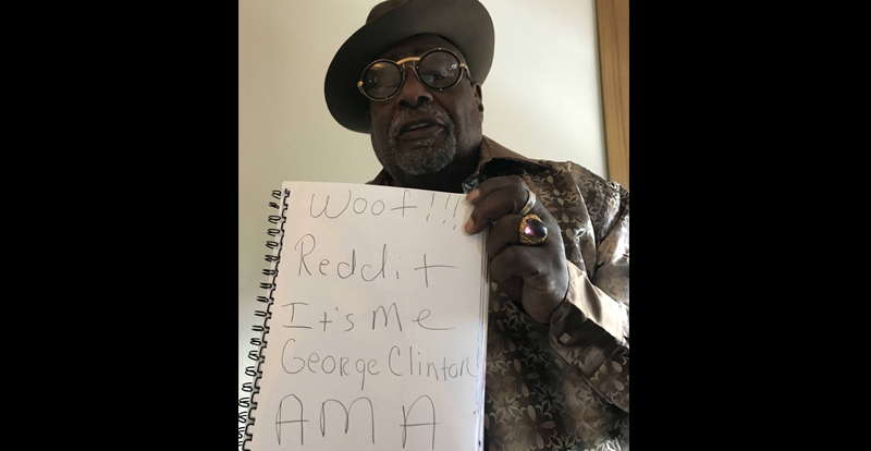 What we learned from George Clinton's AMA