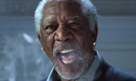 It's here – Dinklage vs Freeman rap battle!