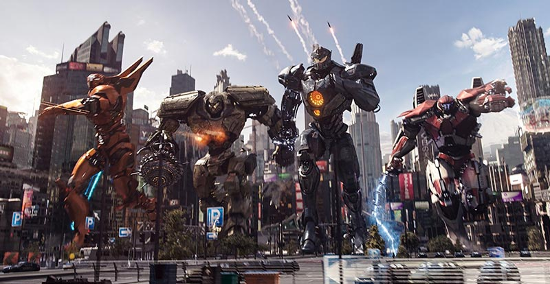 Robots battle the big monsters – new Pacific Rim Uprising trailer