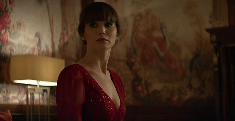 New Jennifer Lawrence Red Sparrow trailer flits in