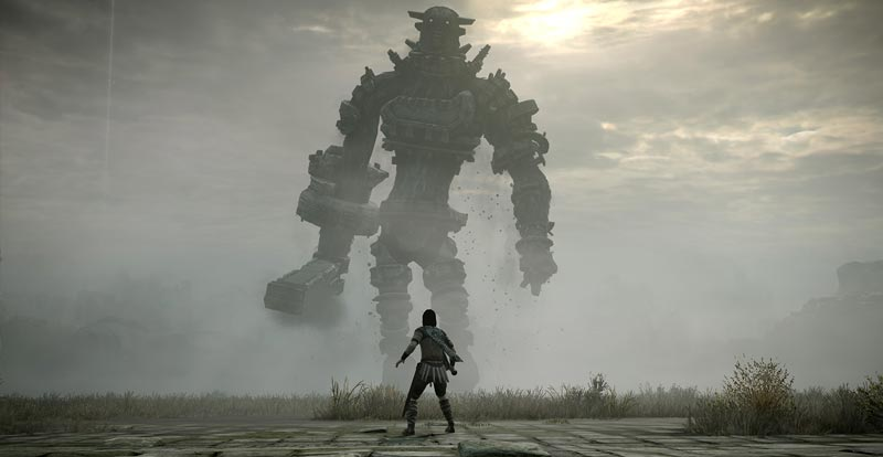 Get your arty on for Shadow of the Colossus