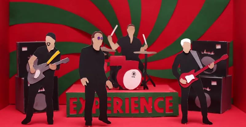U2's 'Get Out of Your Own Way' gets animated