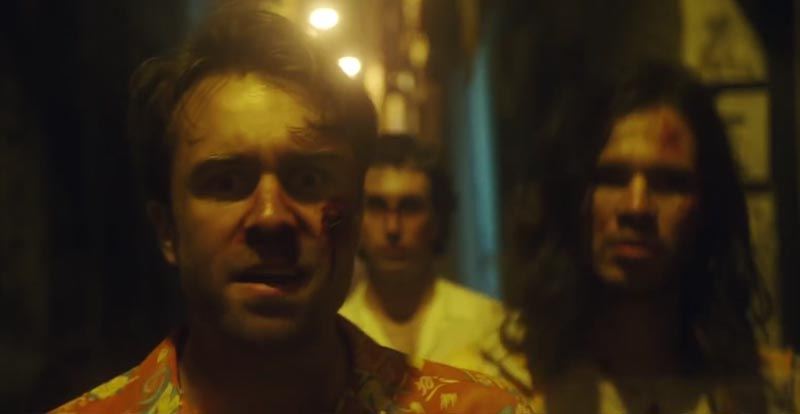 Bloody new vid from The Vaccines, 'I Can't Quit'