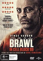 Brawl in Cell Block 99 DVD Cover
