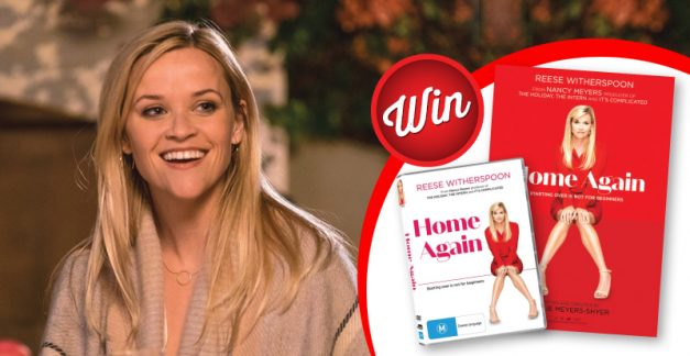 Home Again movie poster and DVD giveaway