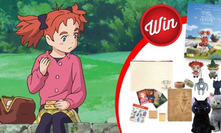 Mary and The Witch's Flower giveaway!