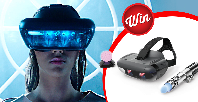 Awaken your inner Jedi when you score this Star Wars AR Headset