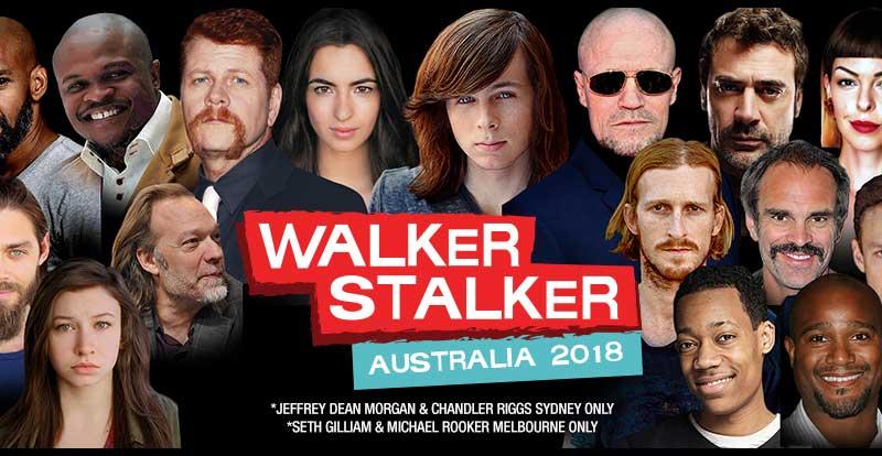 UPDATED: ICYMI – Walker Stalker are bringing Zombies Down Under
