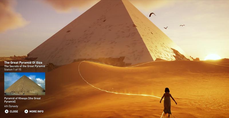 Roll up, roll up for the Assassin's Creed Discovery Tour!