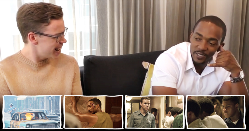 Will Poulter and Anthony Mackie interview and Detroit review