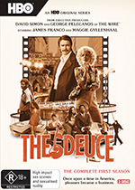 The Deuce Season 1 DVD Cover